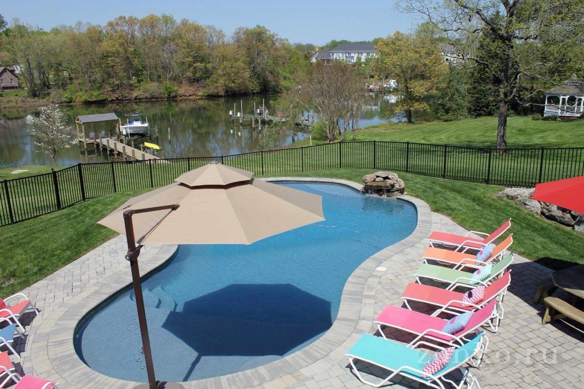 Резиновая краска для бассейнов